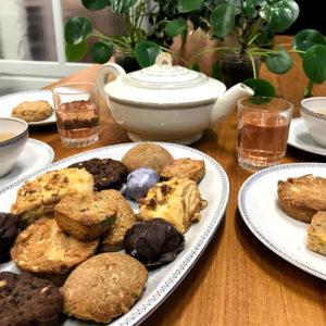 Heerlijke home made cookies van Haa gebak bij Locatie Hofboog