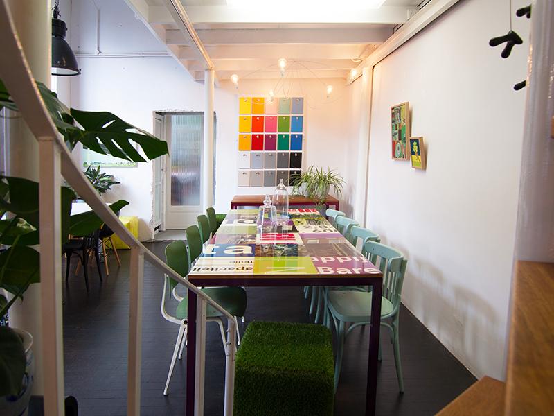 Kleinschalige creatieve ruimte