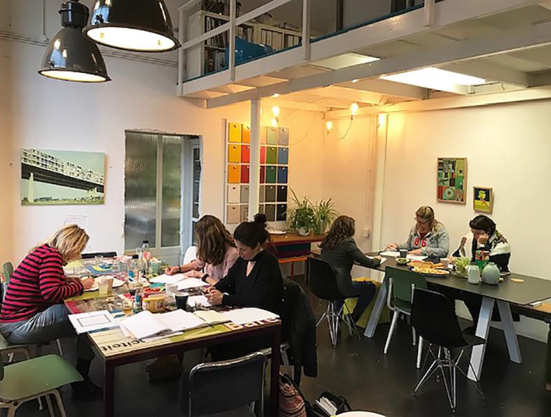 Workshopruimte op een unieke locatie
