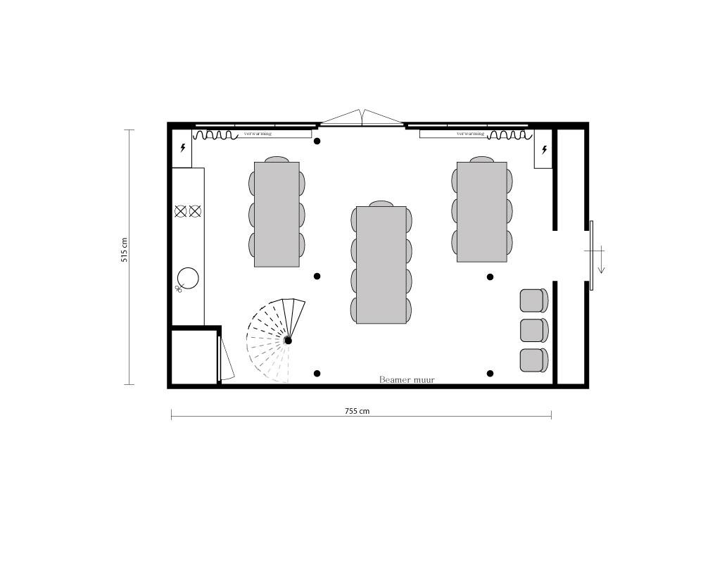 Plattegrond indeling Hofboog